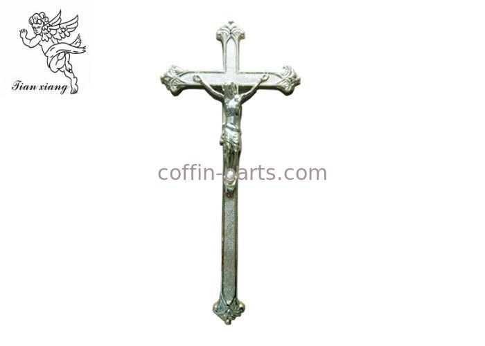 Cruz PP del ataúd del color de plata/de cobre del crucifijo fúnebre ...